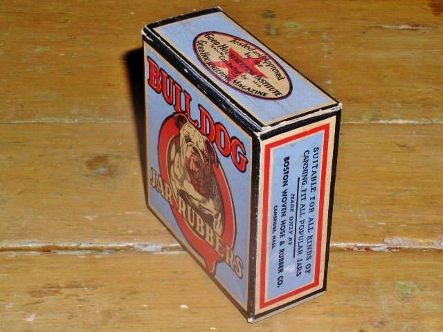 Bull Dog Jar Rubbers Box, FULL,