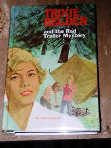 Trixie Belden, The Red Trailer Mystery  Book