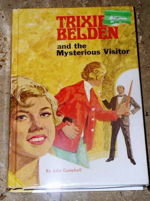 Trixie Belden, The Mysterious Visitor  Book