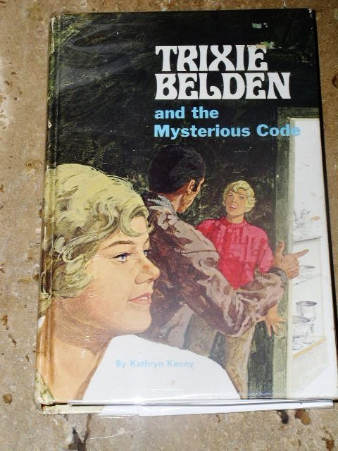 Trixie Belden, The Mysterious Code  Book