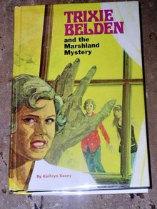 Trixie Belden, The Marshland Mystery  Book