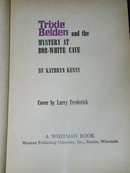 Trixie Belden, The Mystery at Bob-White Cave  Book