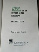 Trixie Belden, The Mystery on the Mississippi  Book