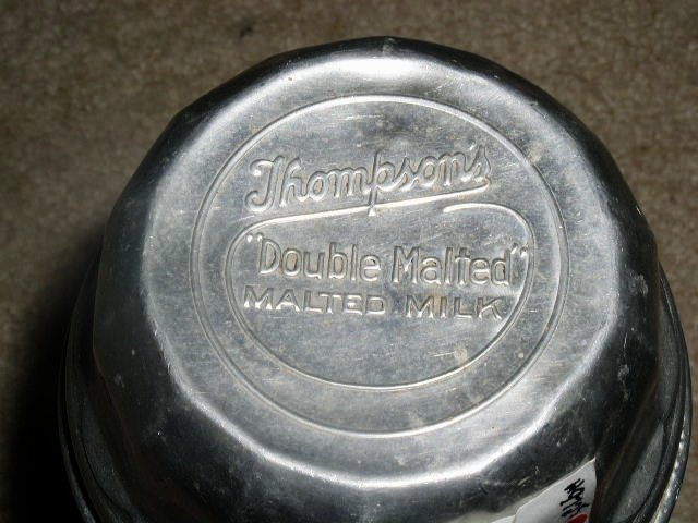 Thompson's Double Malted Milk Shaker