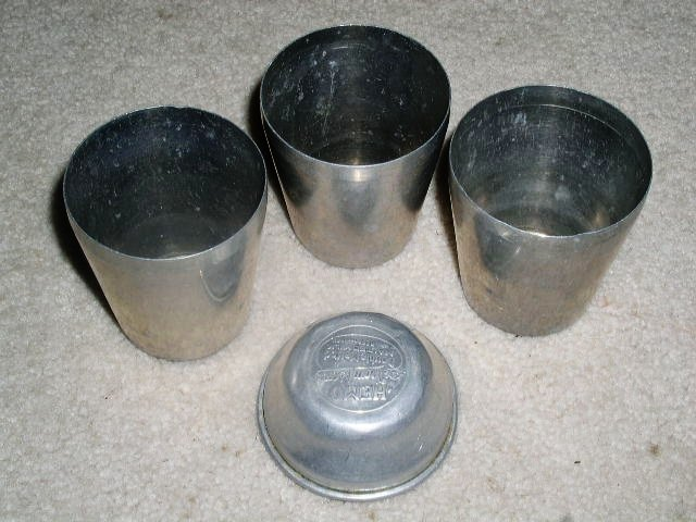 Thompson's Hemo Double Malted Milk Shakers/Cups