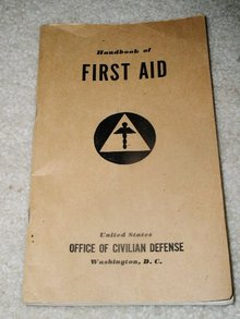 Civil Defense First Aid Handbook, 1941.
