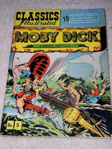 Classics Illustrated Comic, Moby Dick #5.