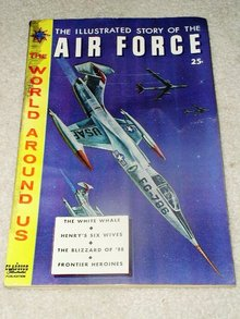 Classics Illustrated Comic,  Story of the Air Force