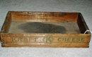 Kraft Cheese Wood Display Box