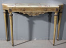 FRENCH LOUIS XVI ONYX TOP CONSOLE J5790