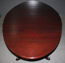 Solid Mahogany Oval American Conference Dining Table