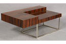 ONE OF A KIND MID CENTURY MODERN MACCASSAR COFFEE TABLE
