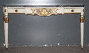 FRENCH LOUIS XVI CONSOLE TABLE PAINTED MARBLE J6283