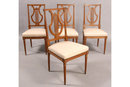 FOUR (4) JANSEN DIRECTOIRE LOUIS XVI DINING CHAIRS 5792