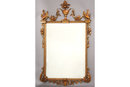 ITALIAN COMPOSITION MIRROR FLANKED 3613 GREAT ITEM WOW!