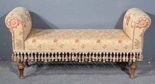 SPECIAL EMBROIDERED FRENCH TASSLE WINDOW BENCH SEAT