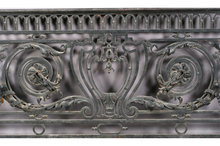 ANTIQUE FRENCH WROUGHT IRON BALCONY PANEL CIRCA 1870