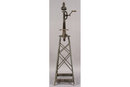 VINTAGE SCULPTURAL DRILL PRESS MOUNTED ON OIL DERRICK