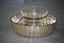 Bernini style caviar bowl Italian 1950