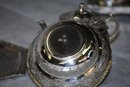 Persian Silver small samovar on stand - teapot and waste bowl 1920
