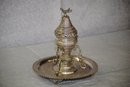 Egyptian silver incense burner 1940