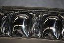 Antique silver oval tray Italian 1930's