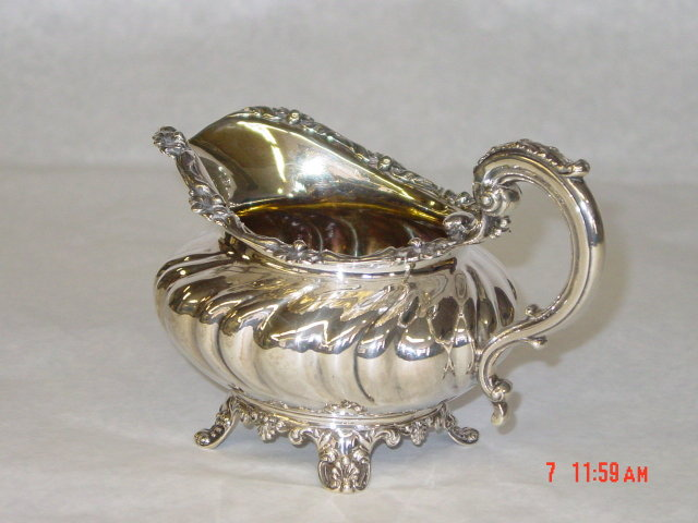 Antique creamer William IV London 1832