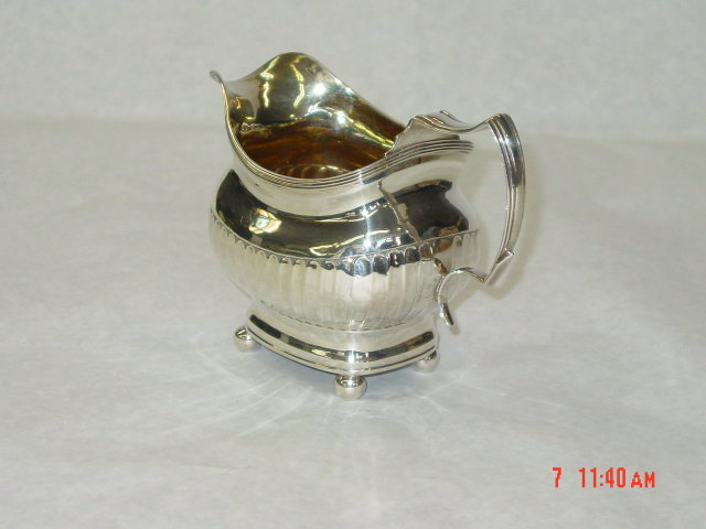 Antique creamer George III London 1813