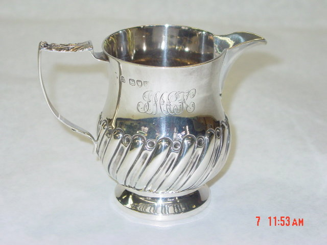 Antique creamer London 1893