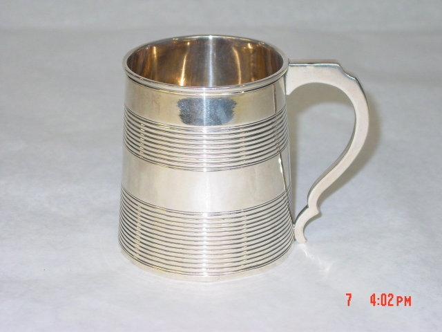 Antique mug George III city of London 1808