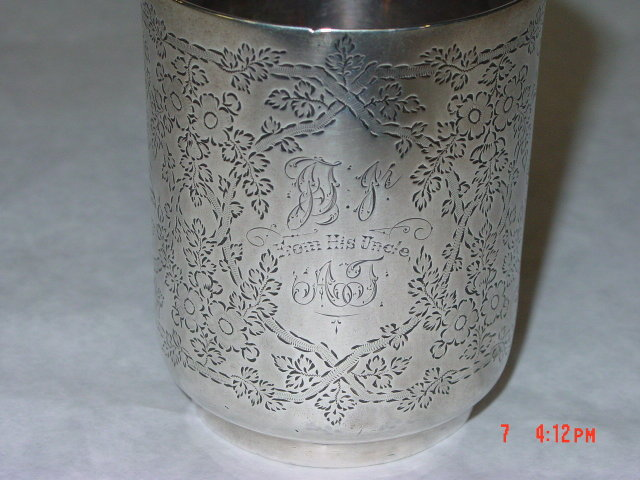 Antique mug city of London 1895