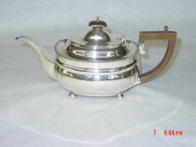 Antique tea pot George V London 1927