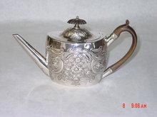 Antique tea pot George III London 1801