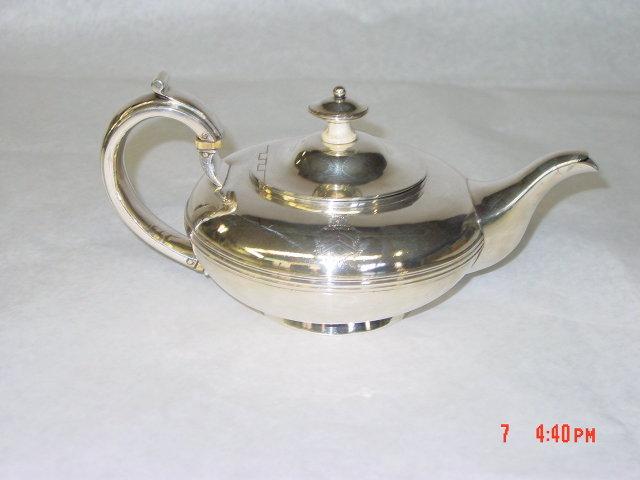 Antique tea pot William IV London 1832