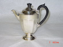 Antique coffee pot city of Sheffield 1936
