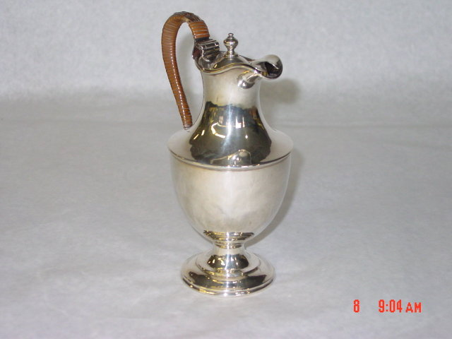 Antique George III small ewer city of London 1812