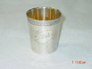Antique French baby cup year 1890