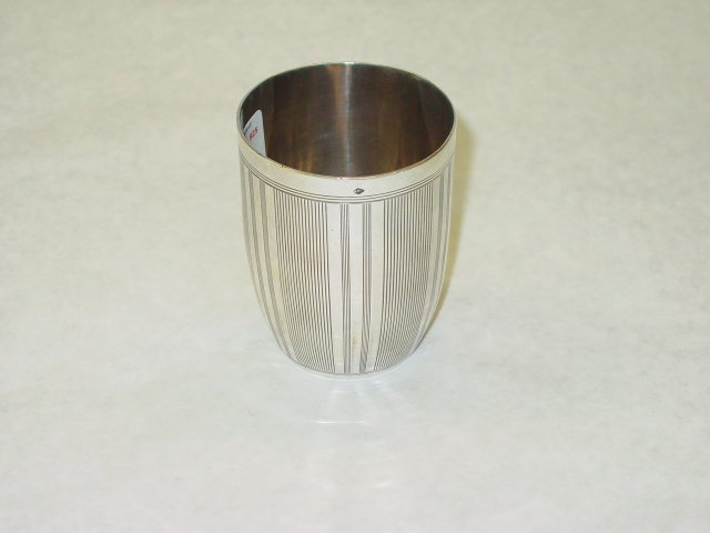 Antique French baby cup year 1870