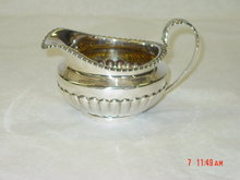 Antique creamer George IV London 1820