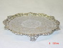 Antique salver Victorian London 1851