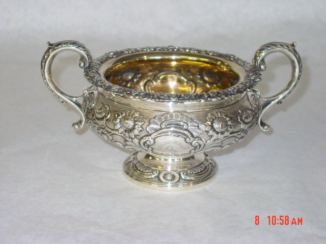 Sugar bowl George III Edimburgh 1818