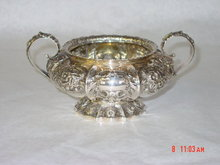 Sugar bowl Victorian London 1860