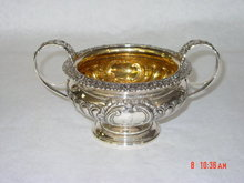 Sugar bowl George III  Edimburgh 1819