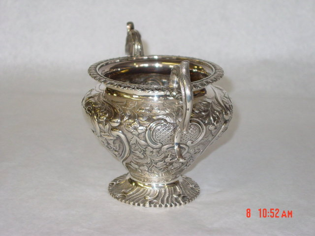 Sugar bowl Victorian London 1870