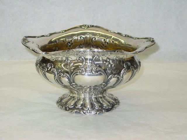 Gorham Chantilly cachepot America 1899