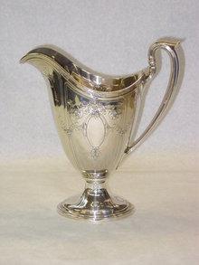 Gorham helm shaped jug America 1918