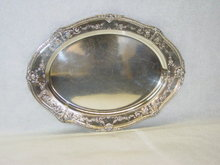 Gorham oval shaped tray America 1919
