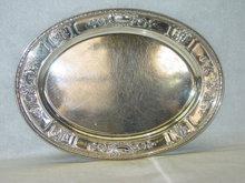 Gorham oval tray America 1918