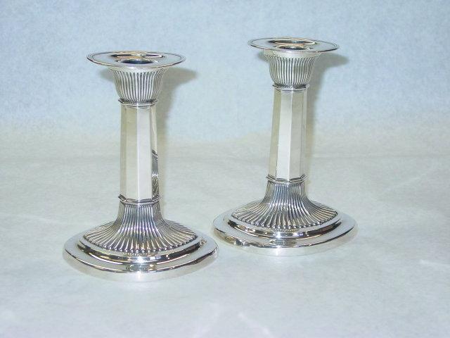Gorham pair candlesticks America 1901