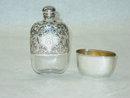 Alvin Co. pocket flask America 1890